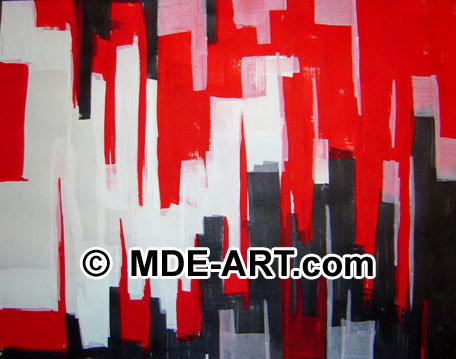 Abstract Expressionism Art Painting