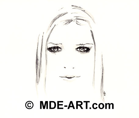 Avril Lavigne Fan Art Drawings