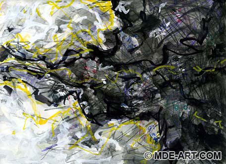 Abstract Impressionist Painting of the Feeling of Clarity, Part 2