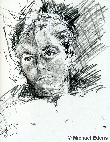 Portraiture - Drawing of a Man