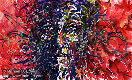 Gaunt - Abstract Portraits and Faces - Sadness and Frustration Series
