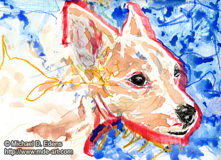 Abstract Dog Drawing | Dream Dog
